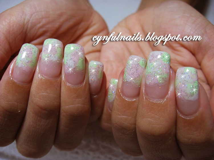 Cynful Nails: Gel Marbellising Art