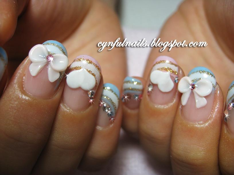 Nail Art Idea: cute gel nail art