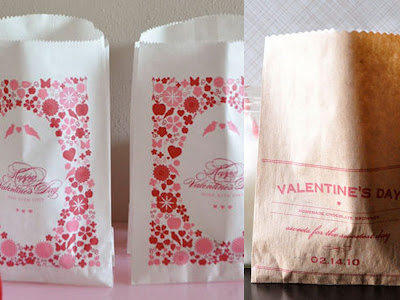 Valentine's Day treat bag downloads