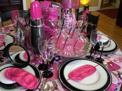 Pink GNO table