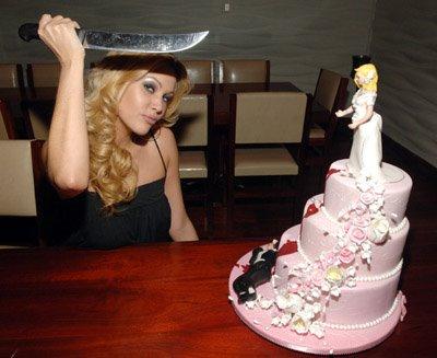 bitter breakup cake