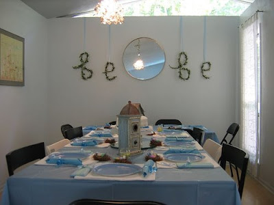 bluebird bebe table