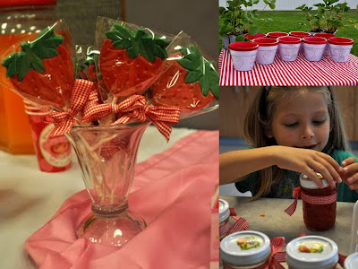 strawberry party collage 6