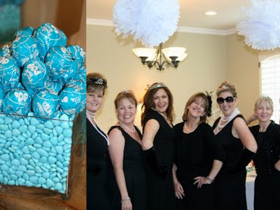 Breakfast at Tiffany's-themed 50th birthday