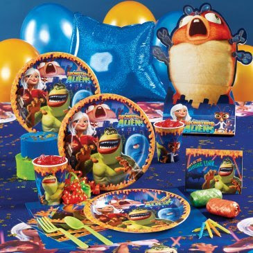 Monsters vs Aliens Party pack