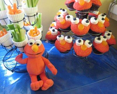 Modern Elmo party