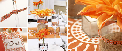 Hostess Blog orange party