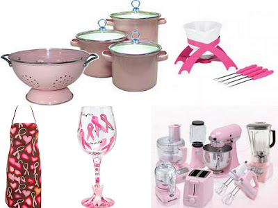 Pink Ribbon cooking collage