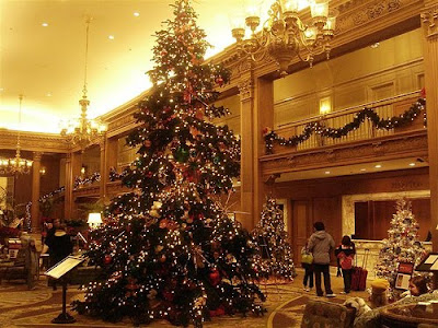 Fairmont Olympic Christmas Tree