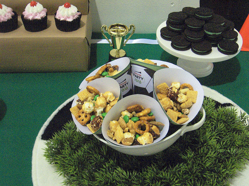 soccer party snacks