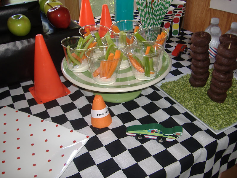 cars party dipsticks