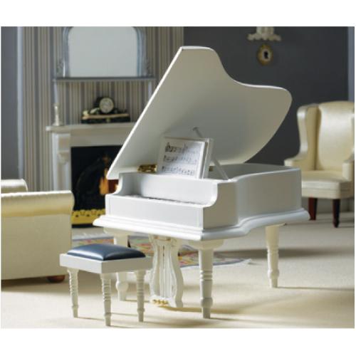 Nadeettt :): White Grand Piano