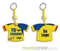 Camiseta Ecuador en lavero - Articulos Promocionales