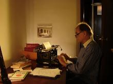 'Simón Cortinas (Un escritor frustrado)' . Corto filmado en marzo.