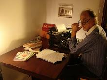 'Simón Cortina' (Un escritor frustrado) Filmado en Marzo 2008