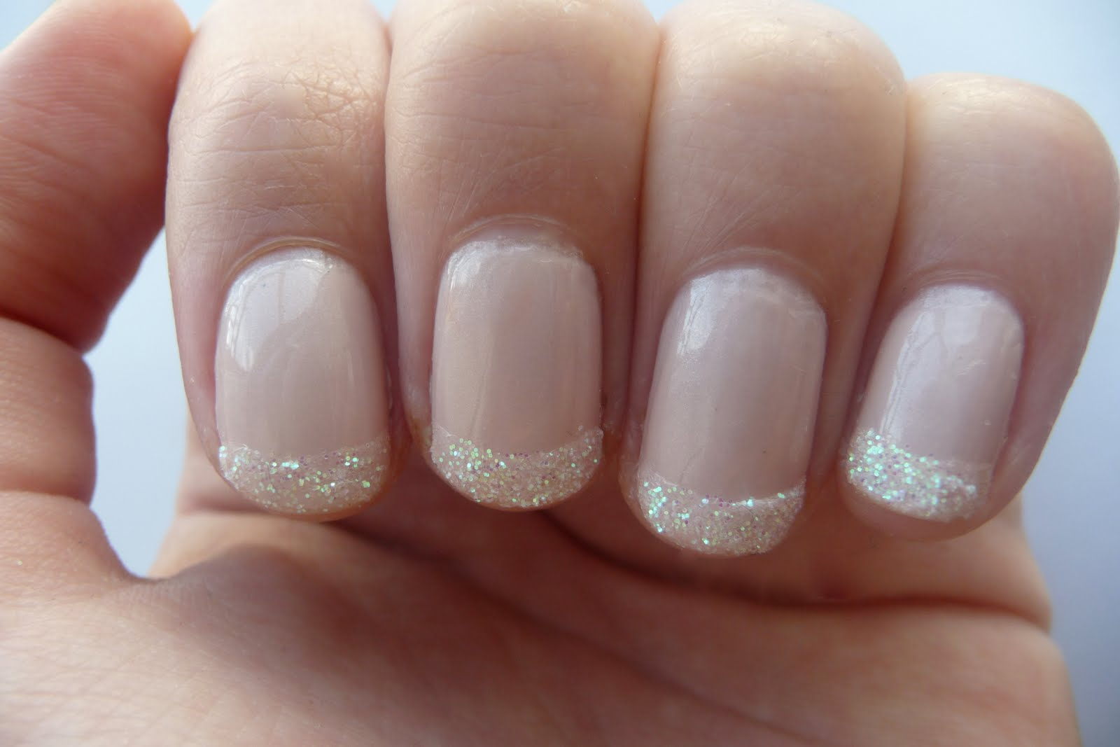 French Tip Nail Designs With Glitter | 2017 - 2018 Best ...