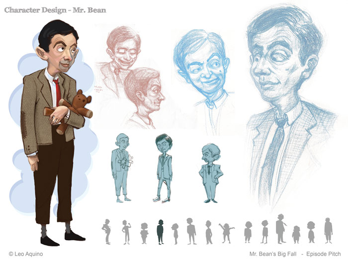 Character Design Layout : The art of leo aquino april