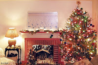Download Christmas Fireplace Desktop Wallpapers
