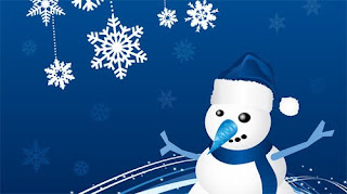 Christmas Snowman Desktop Backgrounds