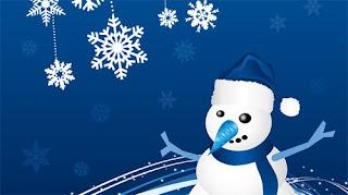 Christmas Snowman Desktop Backgrounds