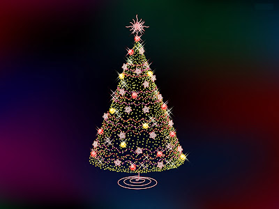 You can enjoy decorated christmas tree desktop wallpapers for your computers