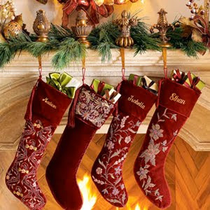 christmas red stocking pictures