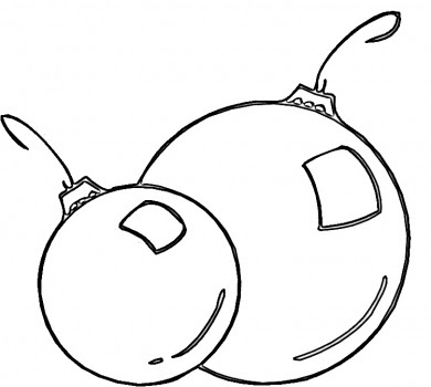 christmas ball coloring page - christmas ball kids coloring pages realistic coloring pages