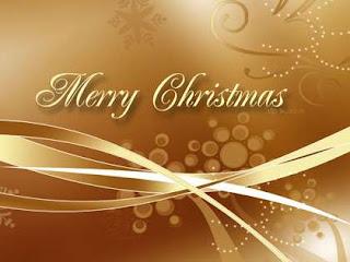 Golden Christmas Desktop Wallpapers