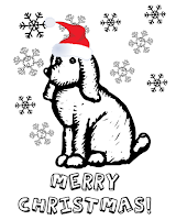 xmas holidays for coloring pages