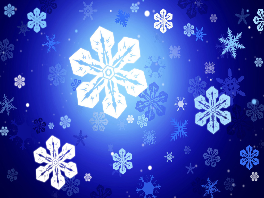 Free christmas desktop wallpaper snowflake