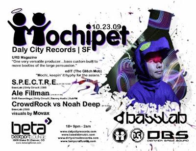 Mochipet, S.P.E.C.T.R.E., Ale Fillman - Basslabs 10.23.09