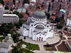 Ο μεγαλοπρεπής Ι.Ν. του Αγίου Σάββα στο Βελιγράδι