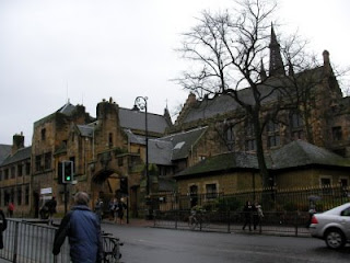 University of Glasgow main gate