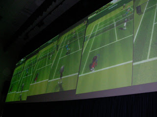 Wii Tennis at Leicester 4