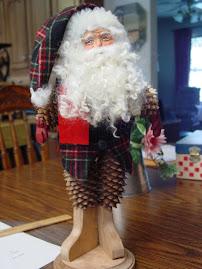 My Pine Cone Santa