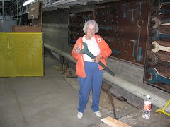 Touring the inside of Pansacola Dam - Sept. 2005