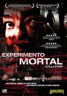 Experimento mortal: isolation cine online gratis