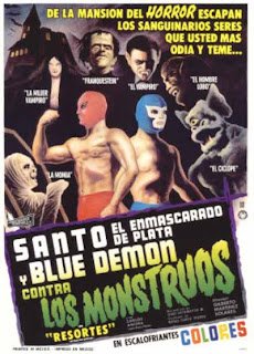 El Santo y Blue Demon versus Los Monstruos