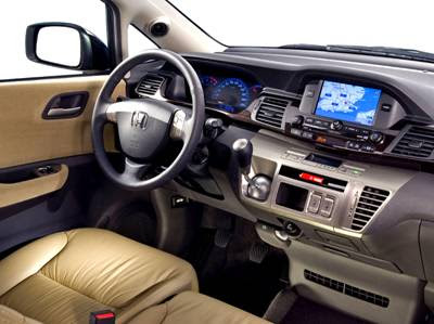 Honda FR V Interior