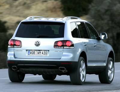 Volkswagen Touareg. Volkswagen Touareg