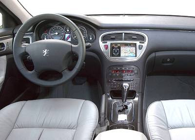 Peugeot oto lover peugeot 607 for Interieur 607