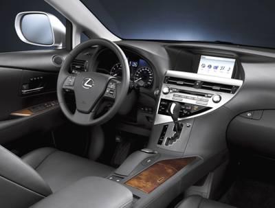 Lexus RX 350 Inside
