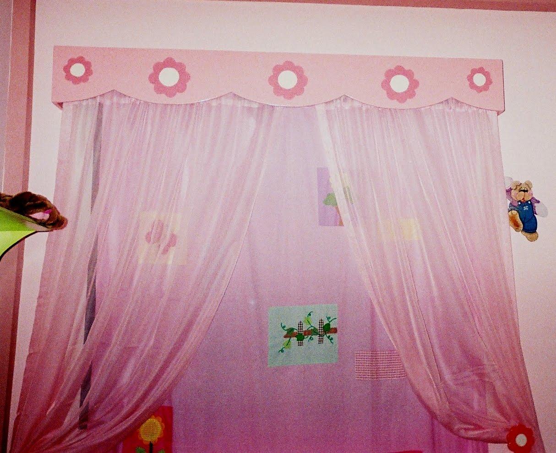 Cenefa de cortina con dise os de flores imagui for Disenos de cenefas