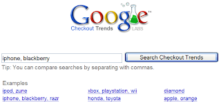 google checkout trends