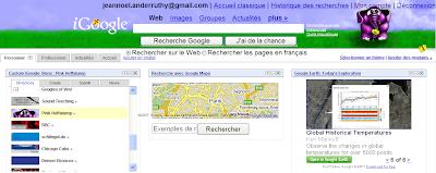 iGoogle skins personnalises