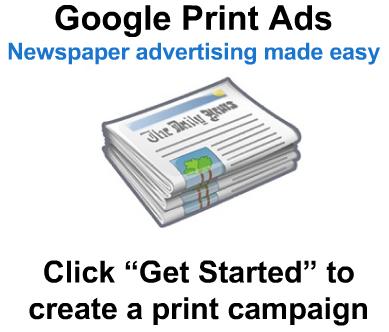 Google Print Ads