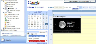 google agenda avec outlook