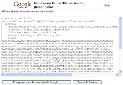 Ajouter un gadget dans la barre d'outils Google
