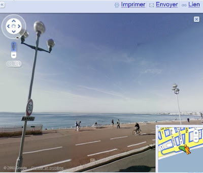 Google Maps Street View change d'interface