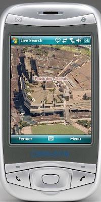Les vues obliques sur Live Maps Mobile